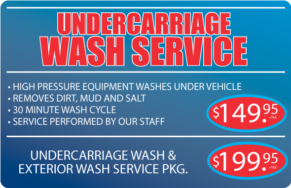 Undercarriage Cleaning package